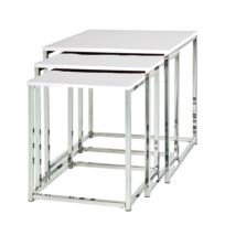 Tables gigognes Robby (lot de 3)
