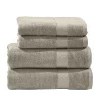 Set de 4 serviettes de toilette Deluxe