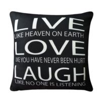Kissen Live Love Laugh