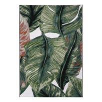 Tapis à poils courts Garden Leaf