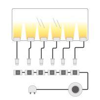 Eclairage LED Farisita pour tablettes