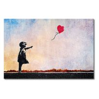 Foto op canvas Banksy No. 14