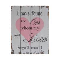 Écriteau Soul Loves