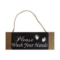 Écriteau Wash your Hands