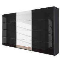 Schuifdeurkast Quadra (spiegel)