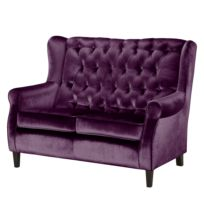 Sofa Luro (2-Sitzer) Samt