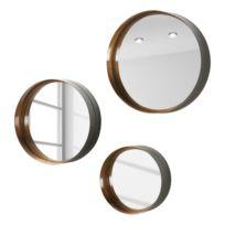 Miroirs Wilton (lot de 3)