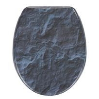 Tavoletta WC Slate Rock