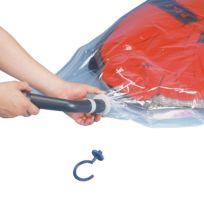 Ruimtebesparende kledinghoezenset