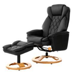 Rode Leren Relaxstoel.Leren Fauteuils Kunstleren Fauteuils Vind Je Hier Home24 Nl