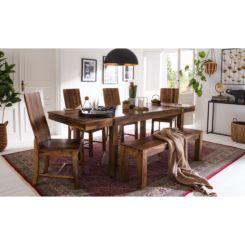 Lange Eettafel 6 Stoelen.Uitschuifbare Eettafels Uitschuifbare Tafels Shoppen Home24 Nl