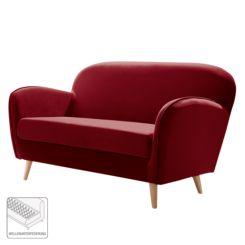 Donkerrode Leren Bank.Rode Banken Rode Zitbanken Online Shoppen Home24 Nl