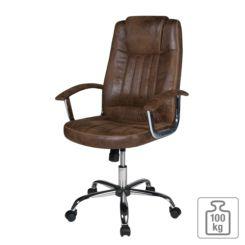 Offen Bürostuhl Schwarz Kunstleder Schreibtischstuhl X-xl Chefsessel 120 Kg Drehst... Drehstühle & -sessel
