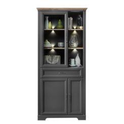 Kleine Glazen Vitrinekastjes.Glazen Vitrinekasten Verzamel Vitrinekasten Shop Home24 Nl