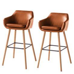 chaise de bar nicholas i lot de 2 - Chaise De Bar