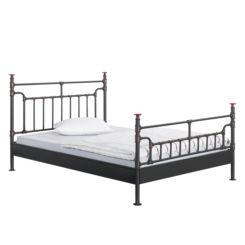 Eenpersoonsbed Met Metalen Frame.Metalen Bedden Shop Jouw Metalen Bed Online Home24 Nl