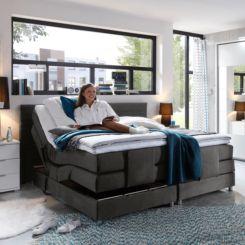 Boxspringbett mit bettkasten elektrisch  Boxspringbetten kaufen | Bett mit & ohne Bettkasten online | home24