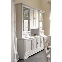 wohnzimmerschränke | wohnzimmer-vitrinen online kaufen | home24 - Wohnzimmer Vitrine Weis