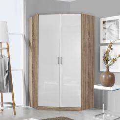 Eckkleiderschrank weiß hochglanz  Eckkleiderschränke   Eckschränke für Schlafzimmer kaufen   home24