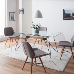 Esstische Glas Glastische Fürs Esszimmer Online Kaufen Home24