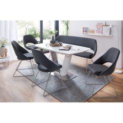 Zwarte Tafel Met Glasplaat.Eettafels Bestel Online In Onze Webshop Home24 Nl