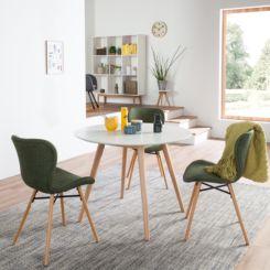Eettafel 2 Personen.Eettafels Betaalbare Design Meubels Home24 Be