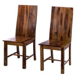 Holzstühle Massivholz Esszimmerstühle Online Kaufen Home24