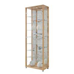 Glazen Wand Vitrinekast.Glazen Vitrinekasten Verzamel Vitrinekasten Shop Home24 Nl