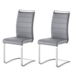 Esstisch und stühle grau  Freischwinger   Bequem schwingende Esstisch Stühle   home24