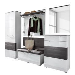 garderoben set haloring. Black Bedroom Furniture Sets. Home Design Ideas