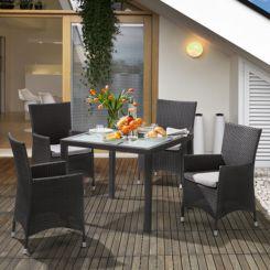 Gartensessel Paradise Lounge (2er Set)