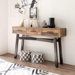 flur konsole schmal wohn design. Black Bedroom Furniture Sets. Home Design Ideas