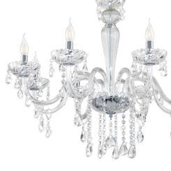 Kronleuchter Glas kronleuchter lüster deckenbeleuchtung kaufen home24