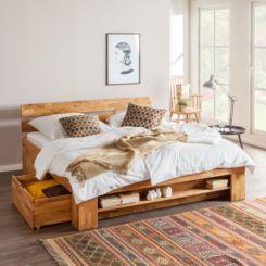 Massief Houten Bed 140x200.Bedden 140x200 Cm Nu Online Bestellen Home24 Nl