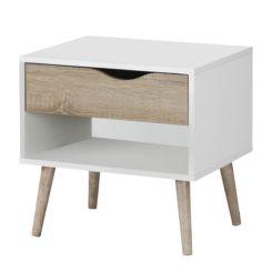 Hoogglans Zwart Nachtkastje.Nachtkastjes Betaalbare Design Meubels Home24 Be