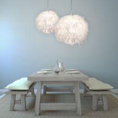 Die Federlampe | Federleichtes Lichtdesign