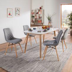 Sedie imbottite | Eleganti sedie imbottite per sala | home24