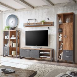 Industrial Wohnwande Wohnzimmermobel Jetzt Hier Kaufen Home24