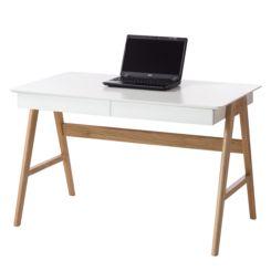 Eckschreibtisch holz weiß  Schreibtische | Bürotisch mit vielen Funktionen online kaufen | home24