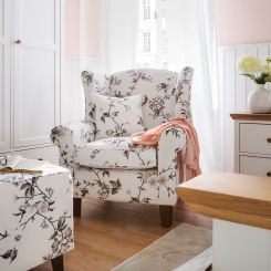 Zwarte Fauteuil Met Hocker.Fauteuils Met Hocker Shop Comfortabele Zitmeubels Home24 Nl
