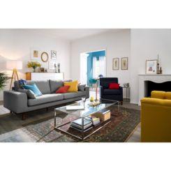 Wunderbar Sofa Billund (3 Sitzer) Strukturstoff
