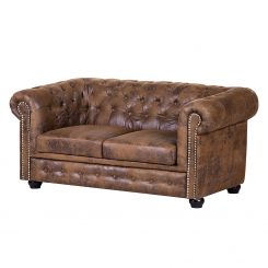 Leren Chesterfield Bank.Chesterfield Shop Stijlvolle Chesterfield Bank Home24 Nl