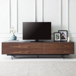 Lowboard nussbaum schwarz  Lowboards - Moderne TV-Möbel online kaufen - Fashion For Home
