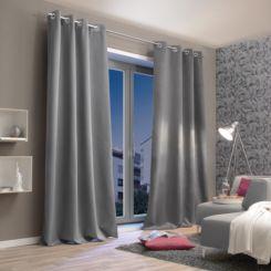 gardinen & vorhänge | textilien für ihre wohnung kaufen | home24 - Vorhange Wohnzimmer Grau