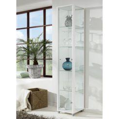 Grote Glazen Vitrinekast.Glazen Vitrinekasten Verzamel Vitrinekasten Shop Home24 Nl