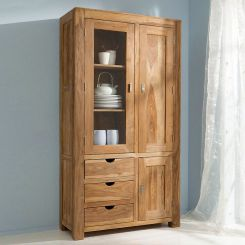 Küchenvitrine modern  Wohnzimmerschränke   Wohnzimmer-Vitrinen online kaufen   home24