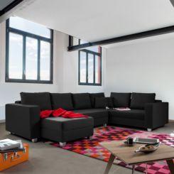 wohnlandschaft braun strukturstoff, wohnlandschaften | sofa & couch in l-form online kaufen | home24, Design ideen