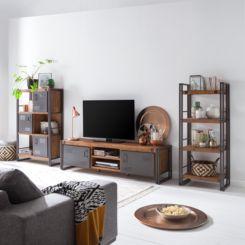 wohnwände | schrankwand & anbauwand jetzt online kaufen | home24 - Schrankwand Wohnzimmer Modern