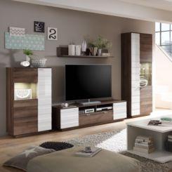 Hochglanz Wohnwände   Modernität fürs Wohnzimmer   home24