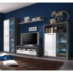 Hochglanz Wohnwande Modernitat Furs Wohnzimmer Home24